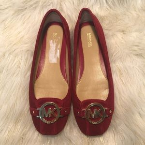 Michael Kors Flat Shoes suede